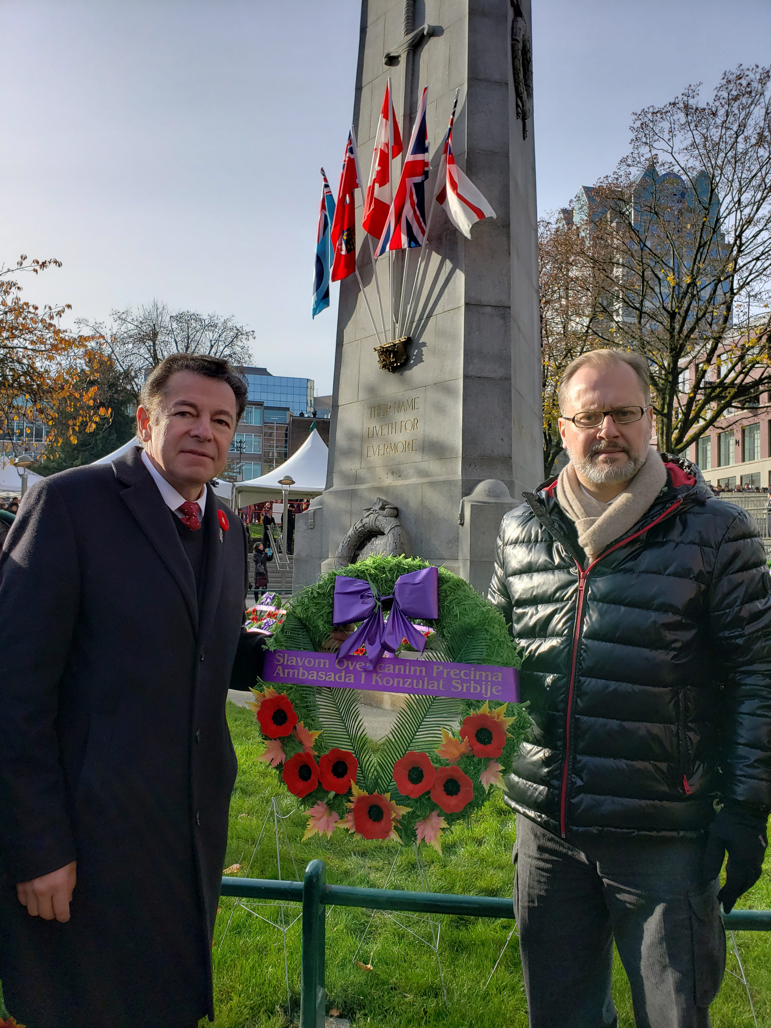 Remembrance Day, November 11, 2018