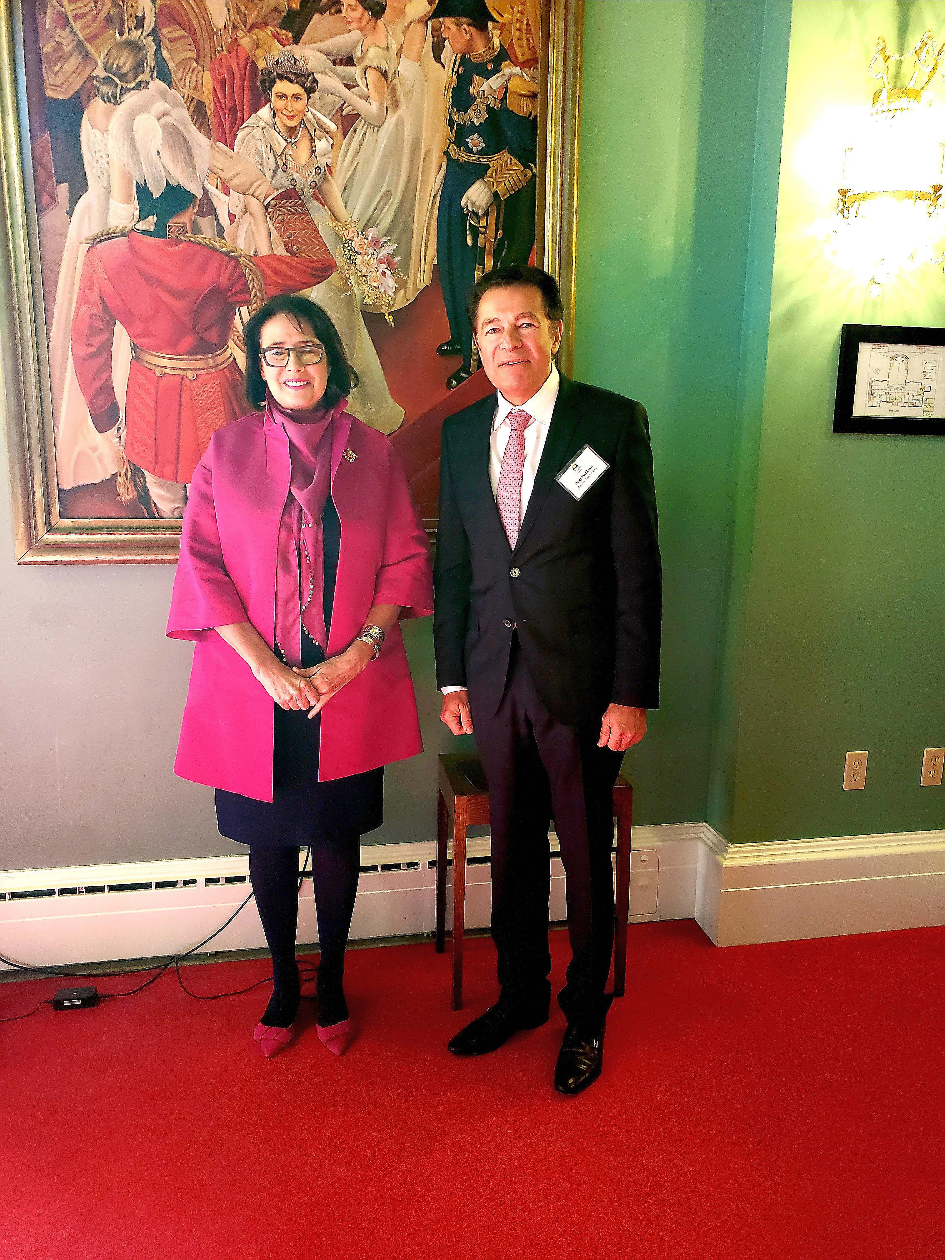 Mr. Peter Vladikovic, Honorary Consul of Serbia at reception for Heads of Mission to British Columbia
